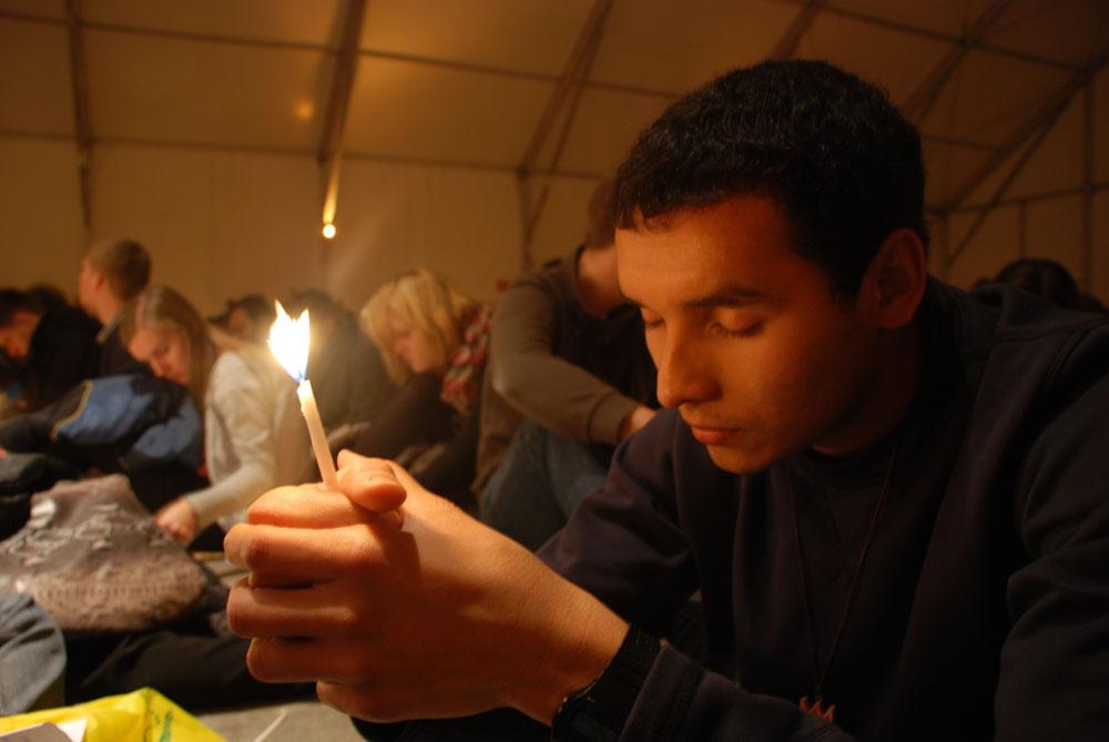 Santuario San Ramón, siempre oramos con un corazón y Espíritu dispuesto