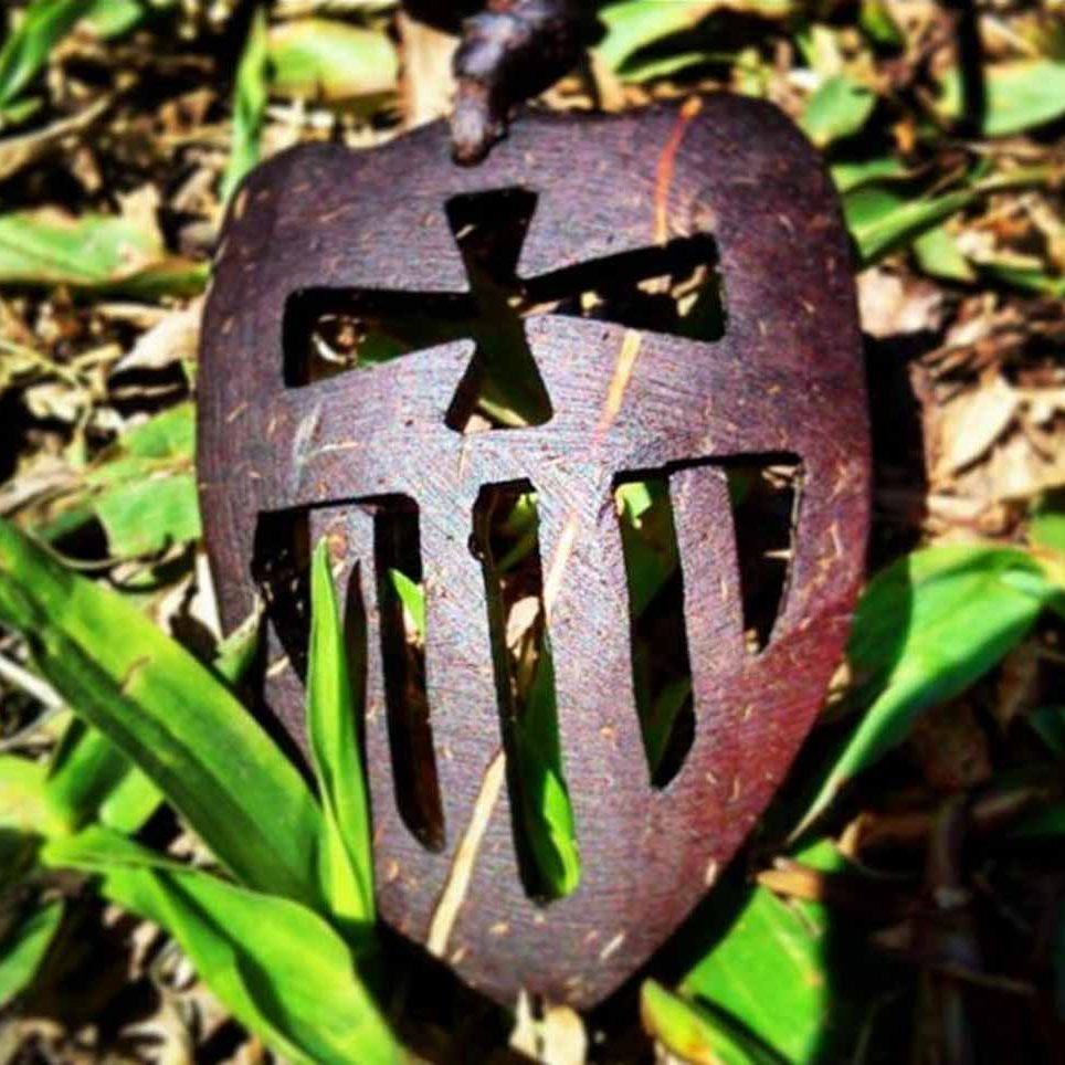 Escudo de coco de la Merced